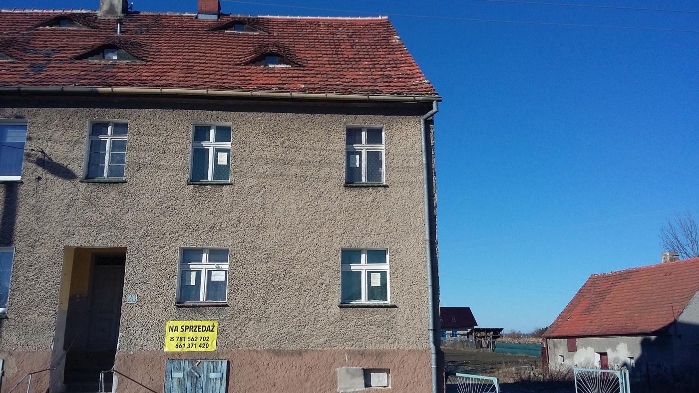 Pół domu piętrowego – Stanowice