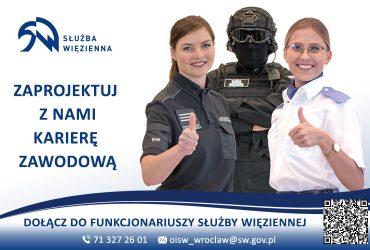 Praca w Areszcie Śledczym w Świdnicy i Służbie Więziennej