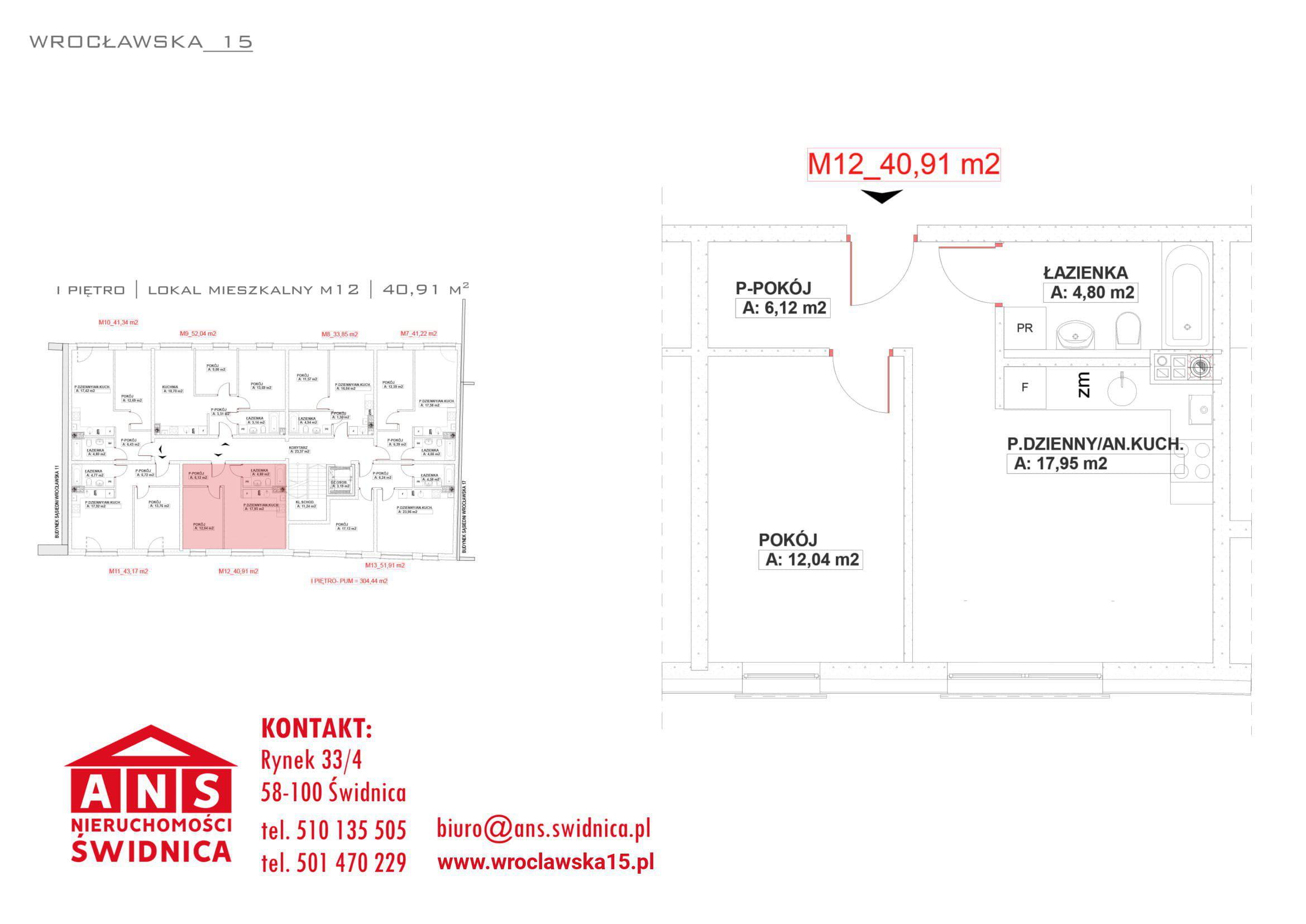 Wrocławska 15 nowe mieszkanie 48,91 m2