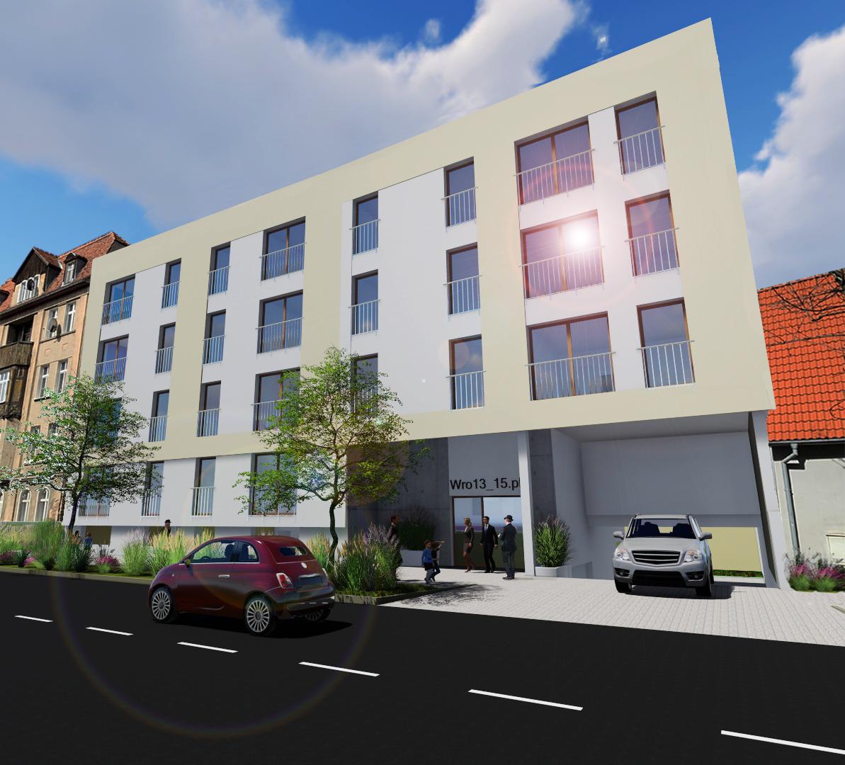 Wrocławska 15 nowe mieszkanie 33,85 m2